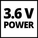 Atornilladores sin cable TC-SD 3,6 Li VKA 1