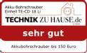 Akku-Bohrschrauber TE-CD 18 Li Kit Testmagazin - Logo (oeffentlich) 2