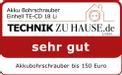 Akku-Bohrschrauber TE-CD 18 Li Testmagazin - Logo (oeffentlich) 2