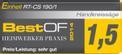 Seghe circolari manuali RT-CS 190/1 Testmagazin - Logo (oeffentlich) 1