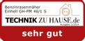 Petrol Lawn Mower GH-PM 46/1 S Testmagazin - Logo (oeffentlich) 1