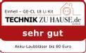 Soffiatori per foglie a batteria GE-CL 18 Li Kit Testmagazin - Logo (oeffentlich) 1