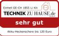 Akkus sövényvágó GE-CH 1855 Li Kit Testmagazin - Logo (oeffentlich) 2