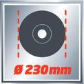 Smerigliatrice angolare TE-AG 230 VKA 1