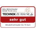 Akku-Bohrschrauber TE-CD 12 Li Testmagazin - Logo (oeffentlich) 1