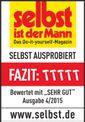 Electric Lawn Trimmer GE-ET 5027 Testmagazin - Logo (oeffentlich) 1