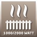Wärmewellenheizung WW 2000 R VKA 1