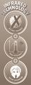 Halogén hősugárzó NHH 2100 Logo / Button 1