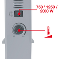 Konvektor CH 2000/1 Detailbild ohne Untertitel 1