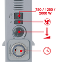 Konvektor CH 2000/1 TT Detailbild ohne Untertitel 1