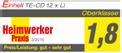 Akku-Bohrschrauber TE-CD 12 X-Li mit 2. Akku Testmagazin - Logo (oeffentlich) 1