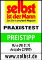 Akkus fűnyíró GE-CM 36 Li Kit (2x3,0Ah) Testmagazin - Logo (oeffentlich) 2