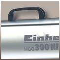 Heißluftgenerator HGG 300 Niro Detailbild ohne Untertitel 3