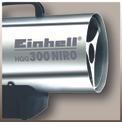 Heißluftgenerator HGG 300 Niro Detailbild ohne Untertitel 2
