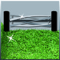 Hand Lawn Mower GC-HM 40 Detailbild ohne Untertitel 2