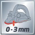 Cepillo eléctrico TE-PL 850 VKA 1