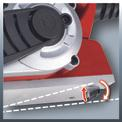 Elektrohobel TE-PL 850 Detailbild ohne Untertitel 4