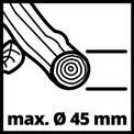 Elektro-Leisehäcksler GC-RS 2845 CB VKA 2
