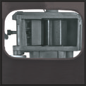 Elektro-Leisehäcksler GC-RS 2845 CB Detailbild ohne Untertitel 1
