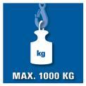 Kettenflaschenzug BT-CH 1000 VKA 1