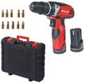 Cordless Drill TE-CD 12 X-Li with 2nd battery Lieferumfang (komplett) 1