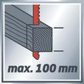 Dekopírfűrész TE-JS 100 VKA 1