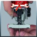 Ferastrau pendular TE-JS 100 Detailbild ohne Untertitel 2