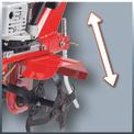 Benzin-Bodenhacke GC-MT 3036 Detailbild ohne Untertitel 3