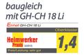 Recortasetos a batería GE-CH 1846 Li Kit Testmagazin - Logo (oeffentlich) 2