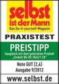 Elektro-Leisehäcksler GC-RS 2845 CB Testmagazin - Logo (oeffentlich) 1