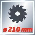 Zug-Kapp-Gehrungssäge TC-SM 2131 Dual VKA 1