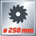 Zug-Kapp-Gehrungssäge TC-SM 2534 Dual VKA 1