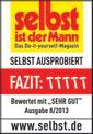 Kapp-Gehrungssäge TE-MS 2112 L Testmagazin - Logo (oeffentlich) 1