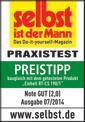 Handkreissäge TE-CS 190 Testmagazin - Logo (oeffentlich) 2