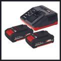 Akku-Bohrschrauber TE-CD 18/2 Li Kit (2x1,5 Ah) Detailbild ohne Untertitel 5