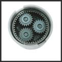 Trapano a batteria TE-CD 18/2 Li Kit (2x1,5 Ah) Detailbild ohne Untertitel 2