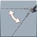 Elektromos magassági sövényvágó GC-HH 9048 Detailbild ohne Untertitel 2