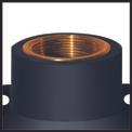 Tiefbrunnenpumpe GC-DW 1300 N Detailbild ohne Untertitel 1