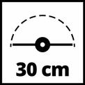 Elektromos fűszegélynyíró GC-ET 4530 Set VKA 3