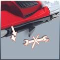 Bandschleifer TE-BS 8540 E Detailbild ohne Untertitel 2