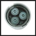 Taladro sin cable TC-CD 18-2 Li (2x1,3 Ah) Detailbild ohne Untertitel 3