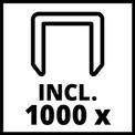 Akkus tűzőgép TC-CT 3,6 Li VKA 3