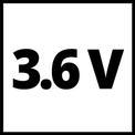 Graffettatrice a batteria TC-CT 3,6 Li VKA 1