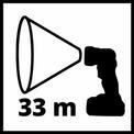 Lanterna fara fir TE-CL 18 Li H-Solo VKA 3