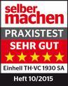Nedves-száraz porszívó TH-VC 1930 SA Testmagazin - Logo (oeffentlich) 1