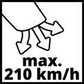 Akkus lombfúvó GE-CL 18 Li E-Solo VKA 3