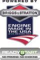 Benzin-Rasenmäher GE-PM 53 VS HW B&S Logo / Button 1