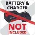 Soffiatori per foglie a batteria GE-CL 18 Li E-Solo Logo / Button 1