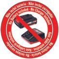 Arieggiatori / scarificatori a batteria GE-SC 35 Li-Solo Logo / Button 1