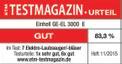 Aspirador soplador eléctrico GE-EL 3000 E Testmagazin - Logo (oeffentlich) 1